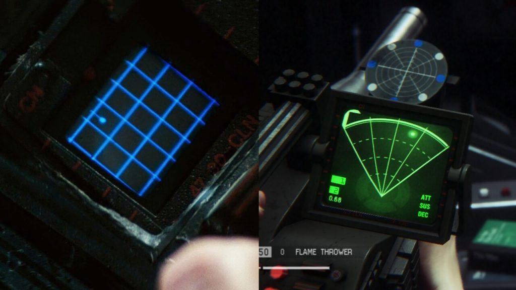 Интерфейс детектора движений