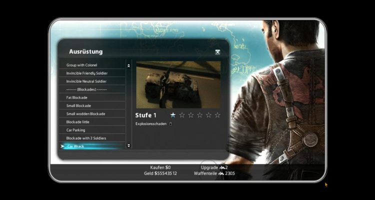 Just Cause 2 zxz's Blackmarket Mod