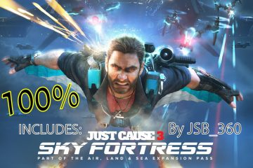 Just Cause 3 Save Game for Sky Fortress Wingsuit