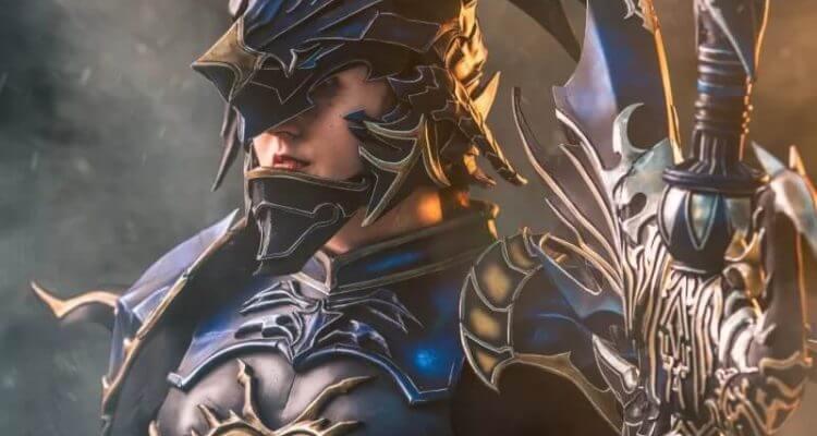 Косплей Драгуна из Final Fantasy XIV