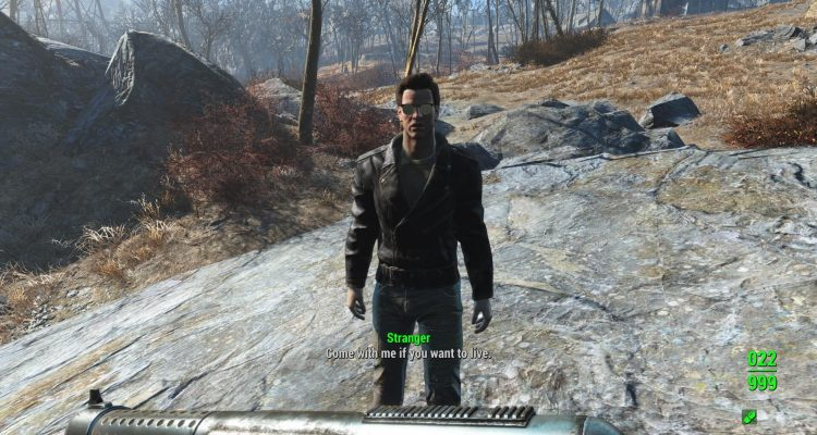 Мод Fallout 4 по сути Terminator: Commonwealth