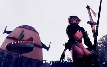 NieR: Automata 2B partially nude