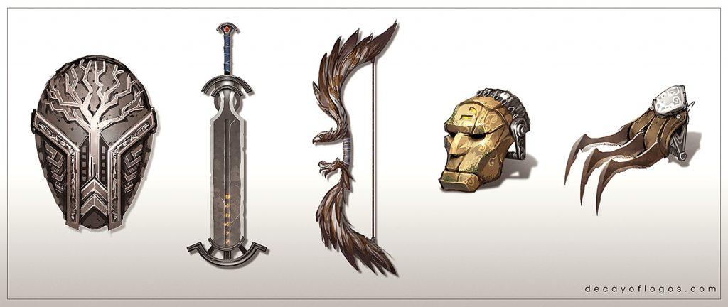 Новое оружие явилось в мистической ARPG Decay of Logos
