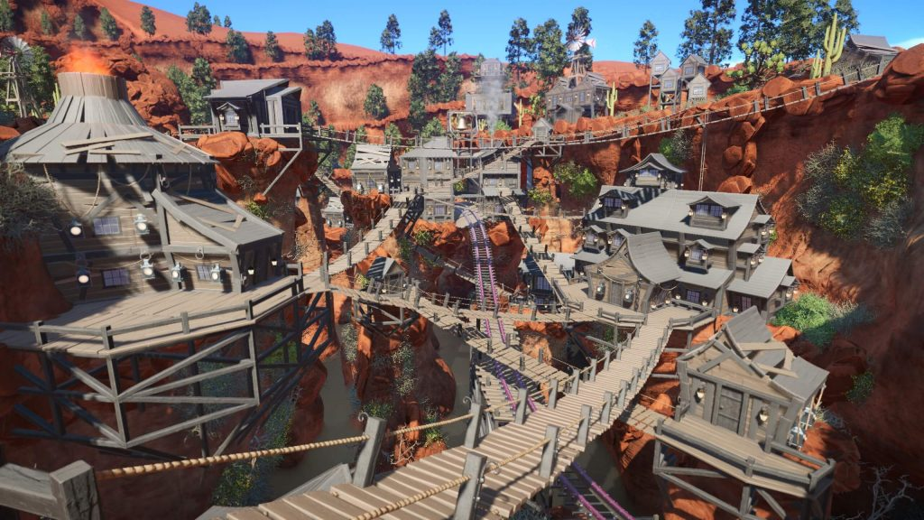 Planet Coaster The Heist In The West