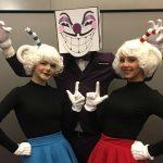 Потрясающий косплей персонажей «Cuphead» от очаровательных девушек!
