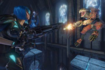Quake Champions демонстрирует новую систему кровообращения тела