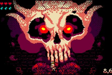 Skelly Selest: Enter the Gungeon в стиле Devil Daggers