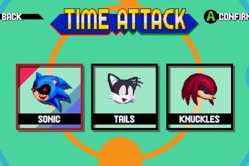 Sonic Mania Sonic.EXE Mania