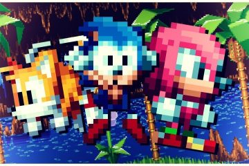 Sonic Mania Chibi Sonic/Tails/Knuckles
