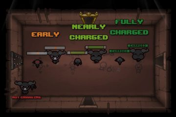 The Binding of Isaac: Afterbirth Chargebars for Brimstone & Co