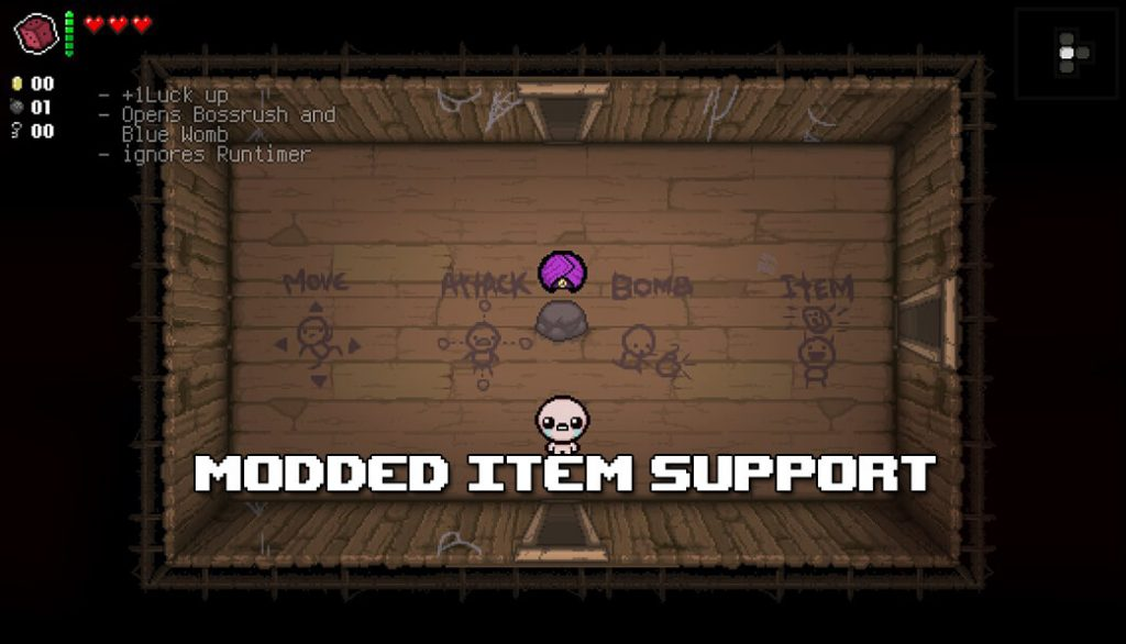 The Binding of Isaac: Afterbirth External item descriptions