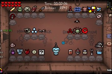 The Binding of Isaac: Afterbirth Items In Spawn