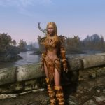 Мод The Elder Scrolls V: Skyrim — Caliente's Beautiful Bodies Edition