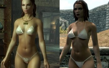 The Elder Scrolls V: Skyrim DIMONIZED UNP Female Body