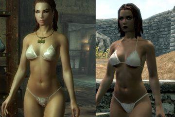 The Elder Scrolls V: Skyrim DIMONIZED UNP Female Body