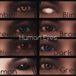 Мод The Elder Scrolls V: Skyrim — H.U.E - Handmade Unique Eyes mod