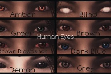 The Elder Scrolls V: Skyrim H.U.E - Handmade Unique Eyes mod