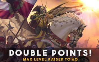 Total War: Warhammer 2 Max Level 60! 2X Points on Level up!
