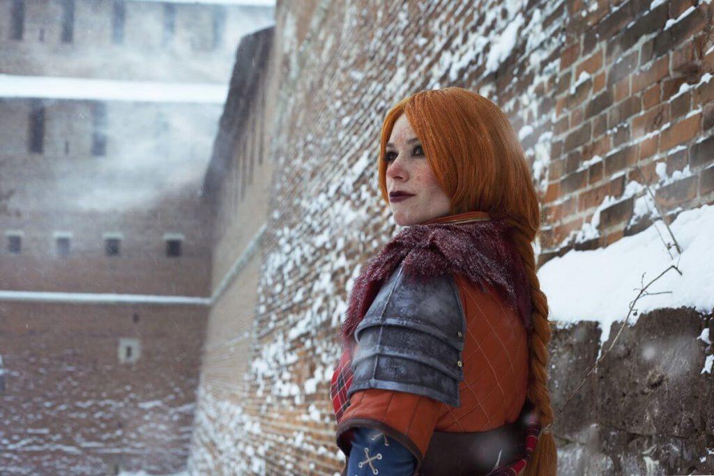 """Ведьмак 3 – """"косплей, пылающий сквозь снег"""""""