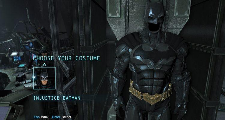 Batman: Arkham Origins Dark Injustice Suit