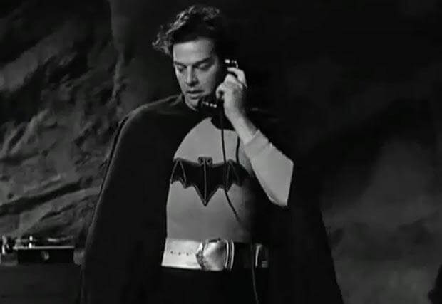 Льюис Уилсон – «Бэтмен» (1943)