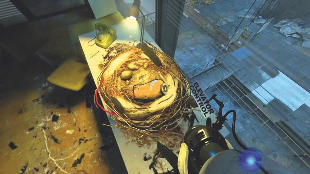 GLaDOS в виде картофелины – Portal 2