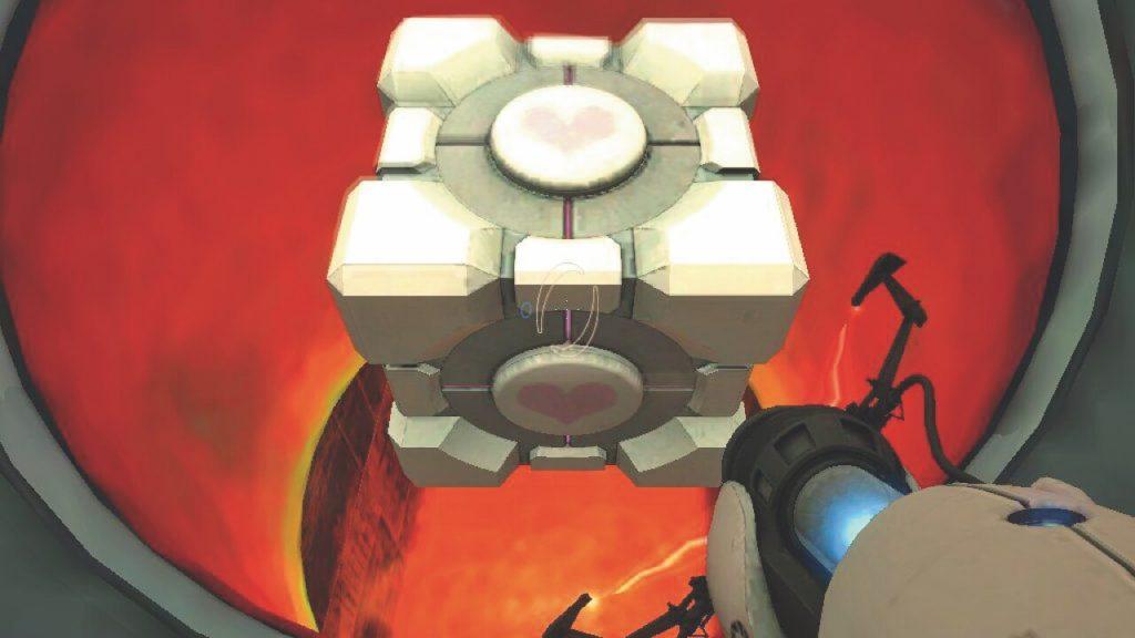 Утяжелённый Куб-Компаньон – Portal