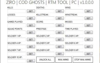 Call of Duty: Ghosts Ziro COD GHOSTS MOD TOOL