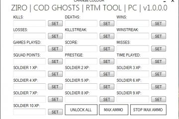 Call of Duty: Ghosts Ziro COD GHOSTS MOD TOOL