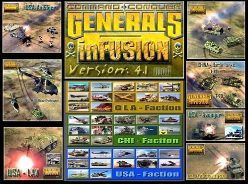 Command & Conquer: Generals InFusion Mod