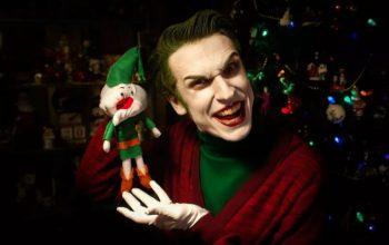 Джокер желает всем очень страшного Рождества