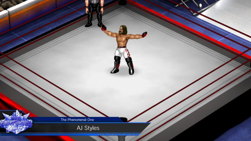 Fire Pro Wrestling World A.J. Styles