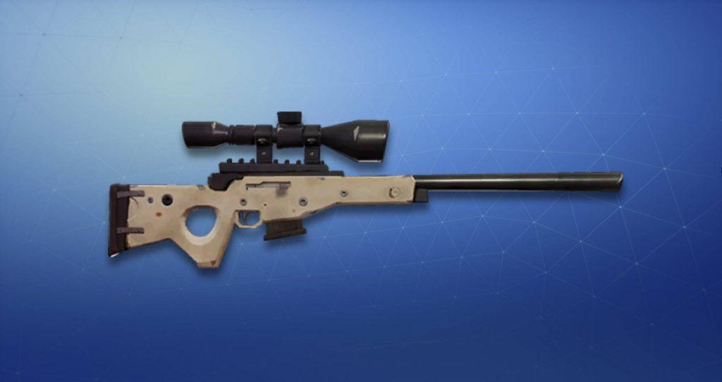 Лучшая снайперская винтовка Fortnite