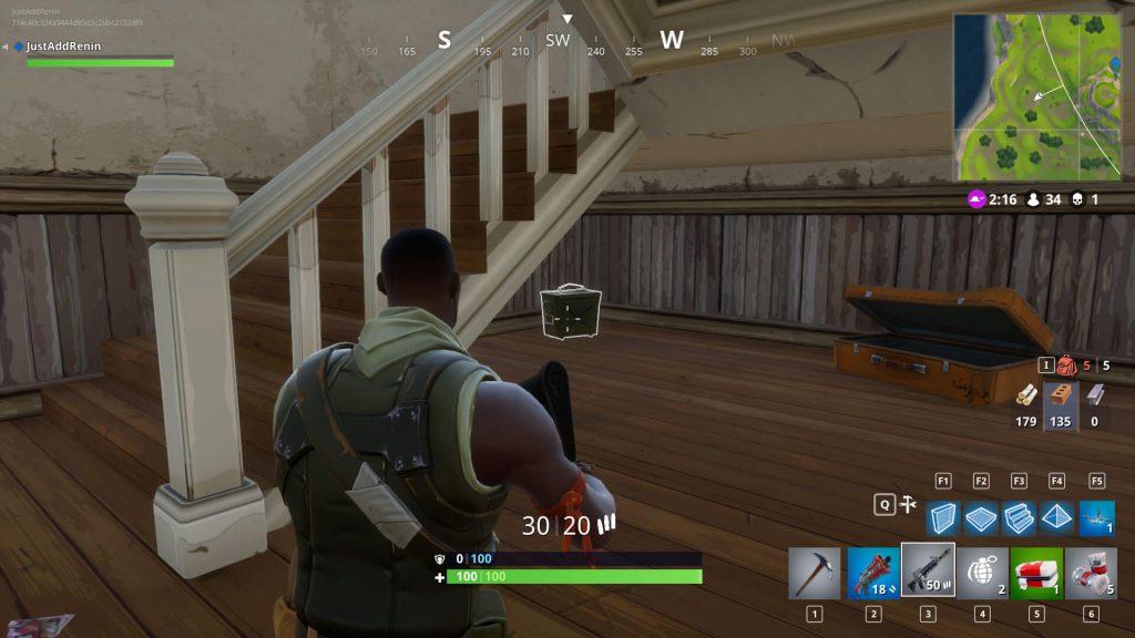 Заглядывайте под лестницы в поисках ящиков с боеприпасами