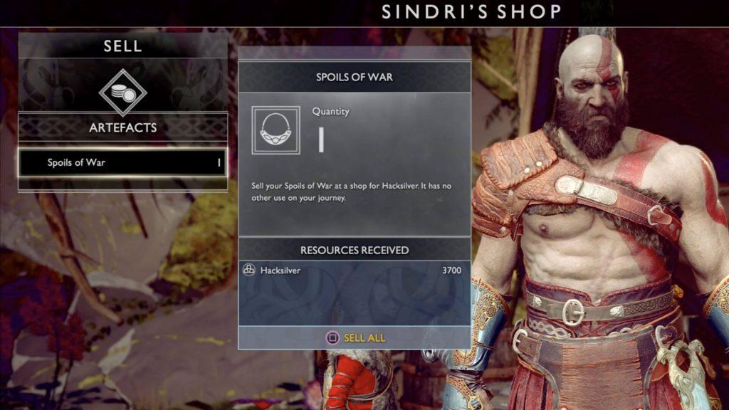 Продавайте все коллекционные предметы и старую броню