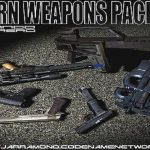 Grand Theft Auto: San Andreas мод Modern Weapons Pack Volume I