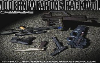 Grand Theft Auto: San Andreas Modern Weapons Pack Volume I