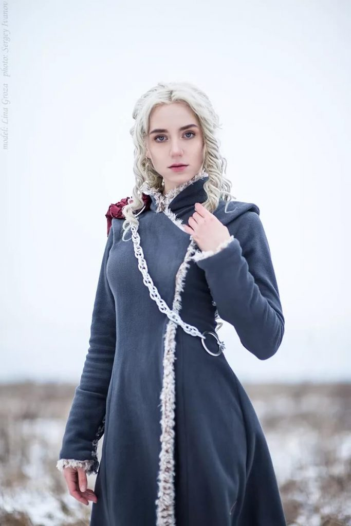 Игра престолов – косплей, готовый к зиме