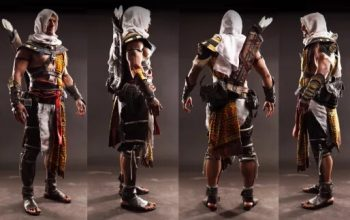 Косплей Assassin's Creed может замаскироваться среди скриншотов игры