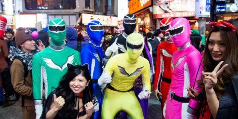 Косплей – не самое лучшее слово на Хэллоуин в Японии