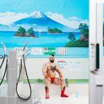 Косплей Зангиева в японской общественной бане