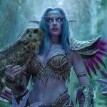 Лучший косплей по World of Warcraft должен иметь при себе настоящих сов!