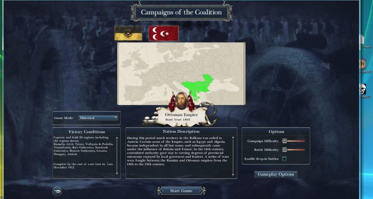 Napoleon: Total War Austria, Ottoman Empire