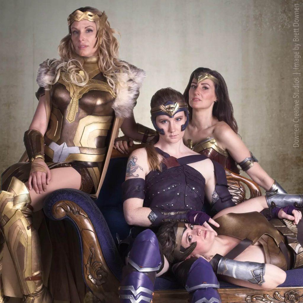 Наряд чудо-женщины для журнала Vanity Fair
