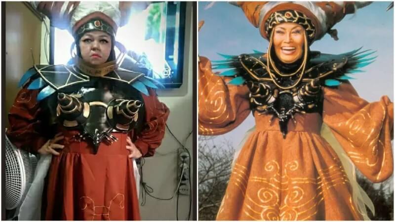 Rita Repulsa (Рита Репульса) из Power Rangers (Могучие рейнджеры)