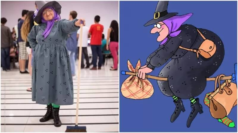 The Bored Witch (Скучающая ведьма)