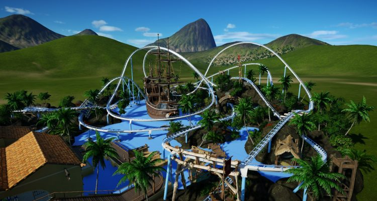 Planet Coaster Flying Dutchman / Launched Wingcoaster