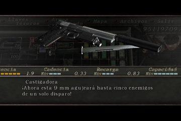 Resident Evil 4 Naked Snake M1911A1