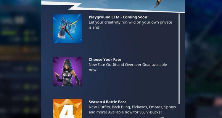 """Режим """"Песочница"""" для игры Fortnite добавят в ближайшее время"""