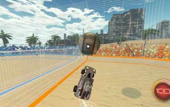 Rocket League Beach Volley